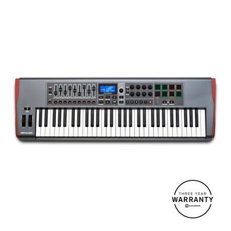 NOVATION USB MIDI CONTROLLER 61 KEYS