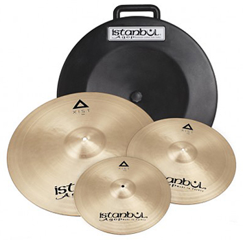 ISTANBUL XIST 3-PACK 14'' 16'' 20'' + HARDCASE