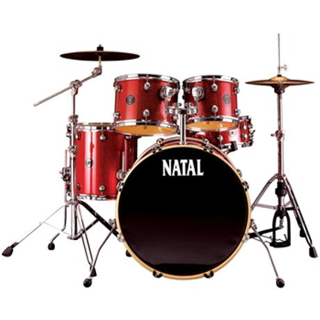NATAL SPIRIT US FUSION X  KIT LTD SCARLET SPARKLE