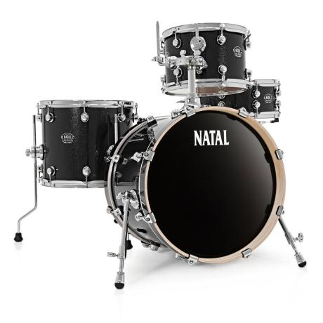 NATAL ARCADIA JAZZ DRUM SET BLACK