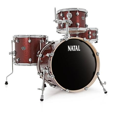 NATAL ARCADIA JAZZ DRUM SET RED