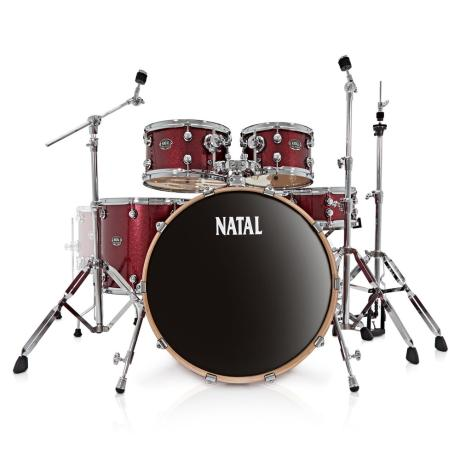 NATAL ARCADIA UFX SERIES DRUM SET, RED