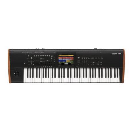KORG MUSIC WORKSTATION/SAMPLER 73 responsive semi-w.keys