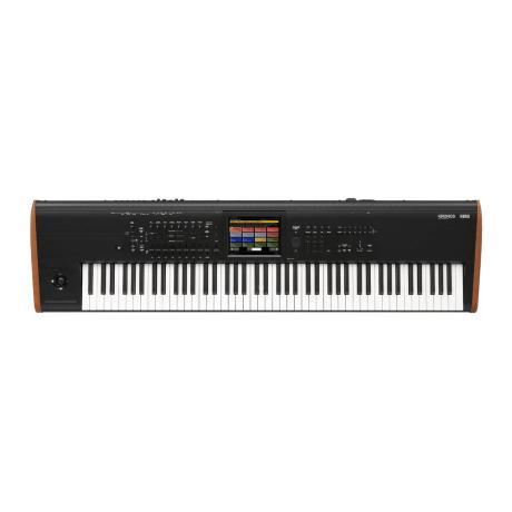 KORG MUSIC WORKSTATION/SAMPLER 88 responsive semi-w.keys