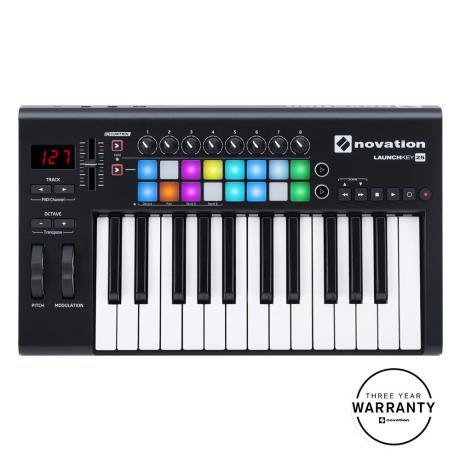 NOVATION USB MIDI CONTROLLER 25 ΔΥΝΑΜΙΚΩΝ ΠΛΗΚΤΡΩΝ
