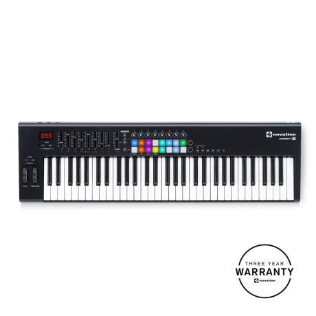 NOVATION USB MIDI CONTROLLER 61 ΔΥΝΑΜΙΚΩΝ ΠΛΗΚΤΡΩΝ