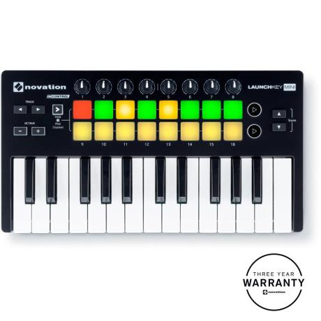 NOVATION MINI-KEY INSTRUMENT FOR MAC & IPAD & PC