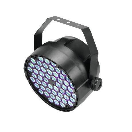 EUROLITE SPOTLIGHT WITH 54 X 3 W LED IN RGB AND DMX CONTROL