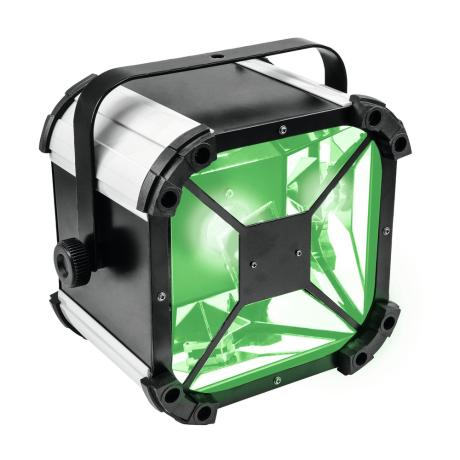 EUROLITE BEAM EFFECT WITH ROTATING MIRROR AND 60 W COB LED (RGBW)