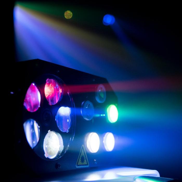 EUROLITE LED ΦΩΤΙΣΤΙΚΟ EFFECT FLOWER & RG LASER