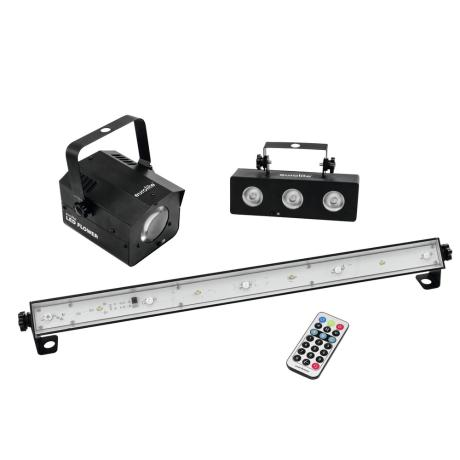 EUROLITE LED MINI PARTY IR SET