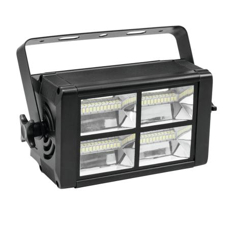 EUROLITE COMPACT STROBE WITH 48 SMD LEDS, ADJUSTABLE FLASH FREUQUENCY + DMX