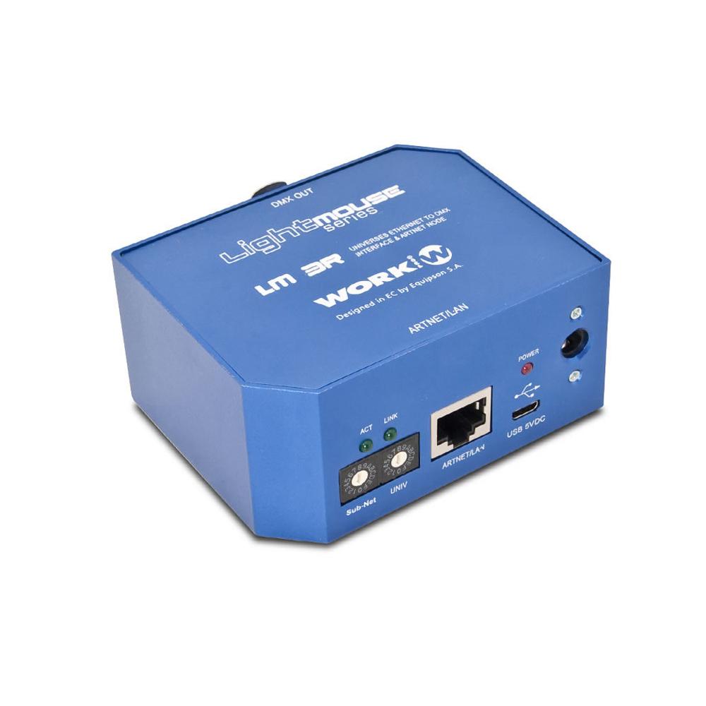WORK DMX/USB INTERFACE