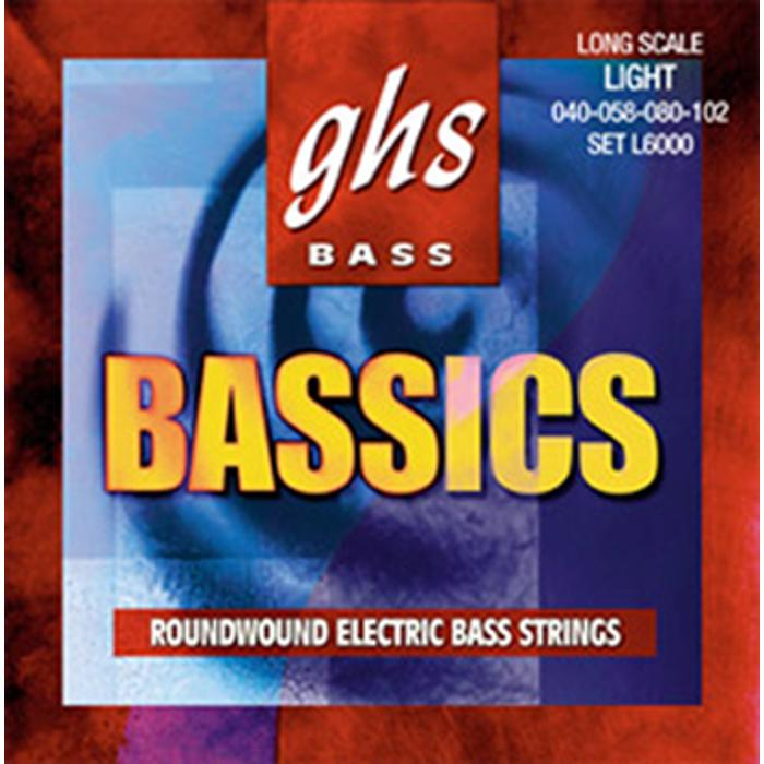 GHS BASS STRINGS BASSICS