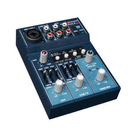 MARK BLUETOOTH & USB MIXER 3 ΚΑΝΑΛΙΩΝ