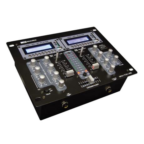 MARK DJ MIXER 2 CHANNEL