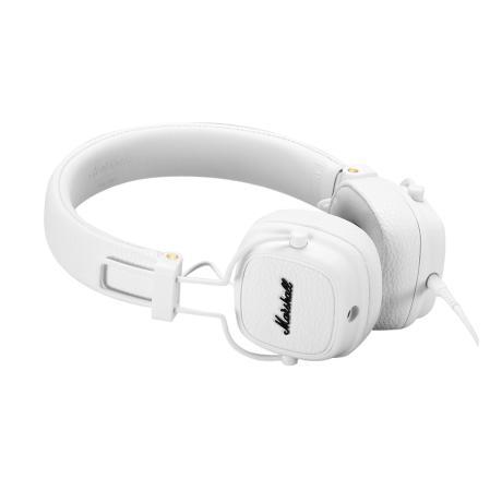 MARSHALL FOLTABLE HEADPHONES CLOSED-BACK DESIGN+MIC WHITE