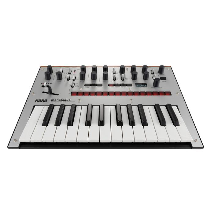 KORG MONOPHONIC ANALOG SYNTHESIZER SILVER-1