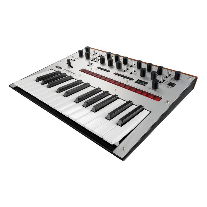 KORG MONOPHONIC ANALOG SYNTHESIZER SILVER-2