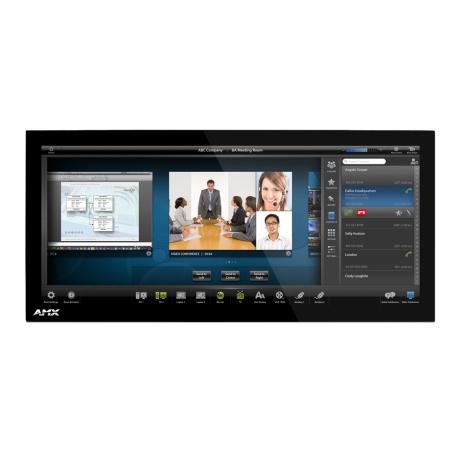 AMX 20.3'' Modero X Series Panoramic Tabletop T/P