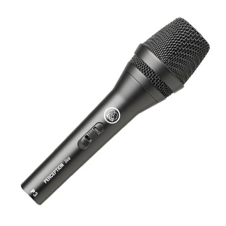 AKG DYNAMIC MICROPHONE WITH ON/OFF SWITCH