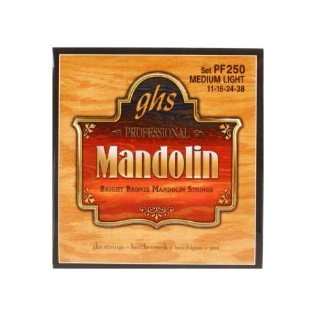 GHS ΣΕΤ ΧΟΡΔΕΣ BRIGHT BRONZE MANDOLIN ML 011-038