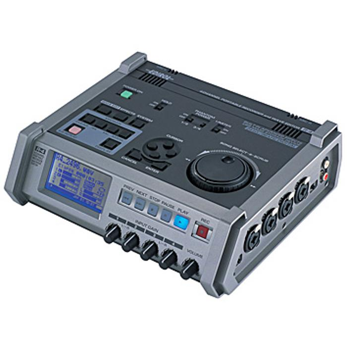 ROLAND 4-CH PORTABLE RECORDER/WAVE EDITOR