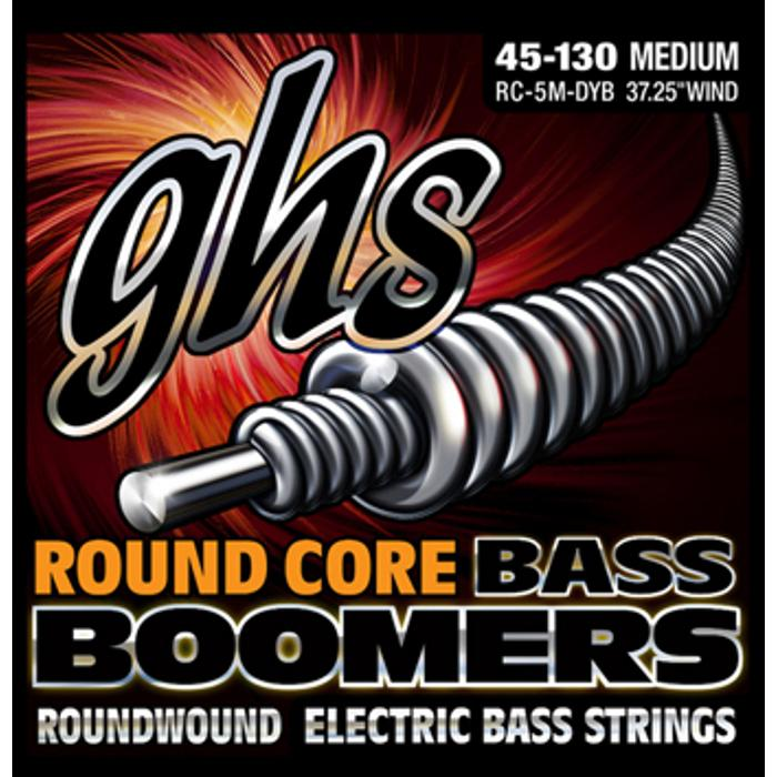 GHS BASS STRINGS ROUND CORE BOOMERS MEDIUM