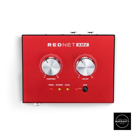 FOCUSRITE DANTE HEADPHONE AMPLIFIER