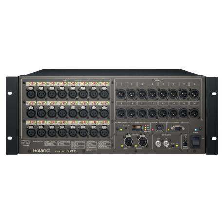 ROLAND STAGE UNIT 24CH IN / 16CH OUT