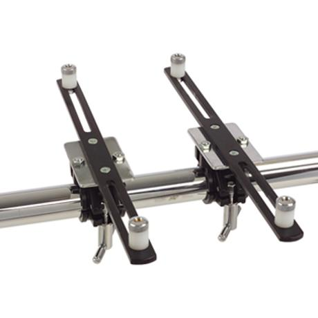 GIBRALTAR ELEC MNT ARM W/CLAMPS PAIR