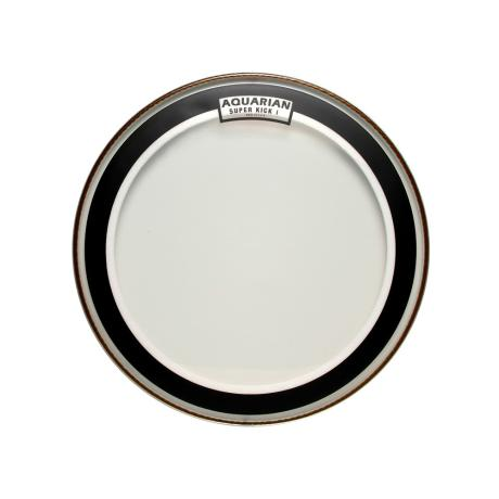 AQUARIAN 16'' CLEAR SINGLE PLY SUPER KICKDRUMHEAD