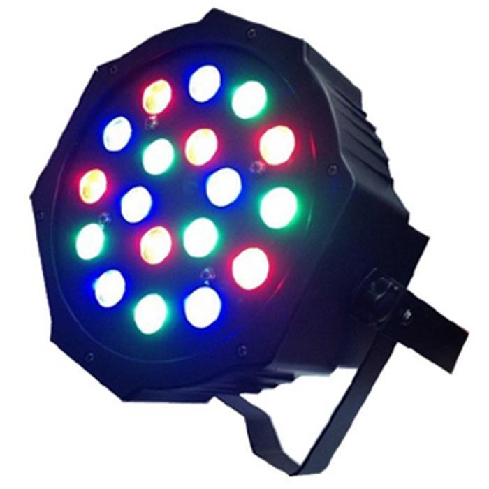 STARAY LED PAR WITH WITH 18 RGB LEDS 18X3W IP20