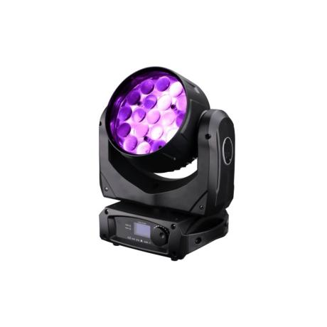 STAR TRIP LED WASH RGBW MOVING HEAD WITH 19X12W  LEDS ZOOM