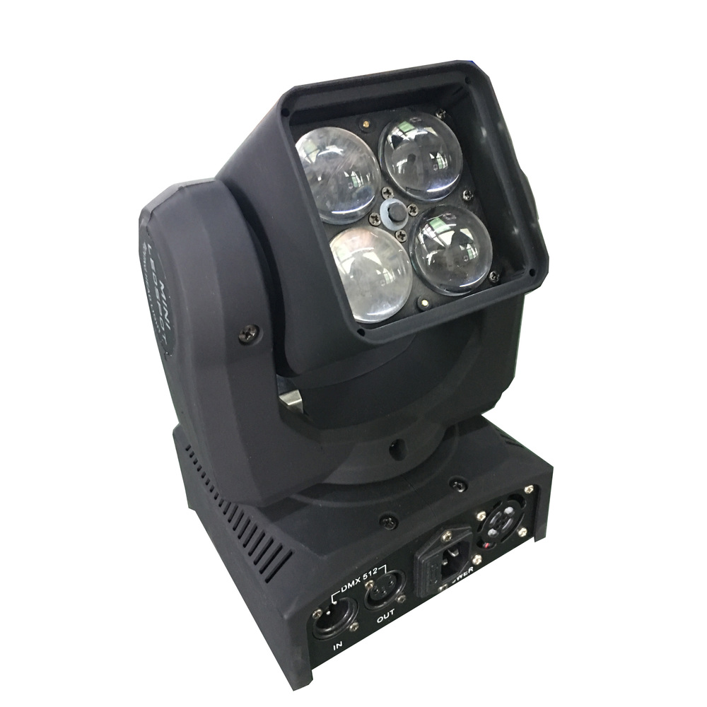STARAY LED ΚΙΝΗΤΗ ΚΕΦΑΛΗ 4:1 RGBW 4X15W INDIVIDUALLY