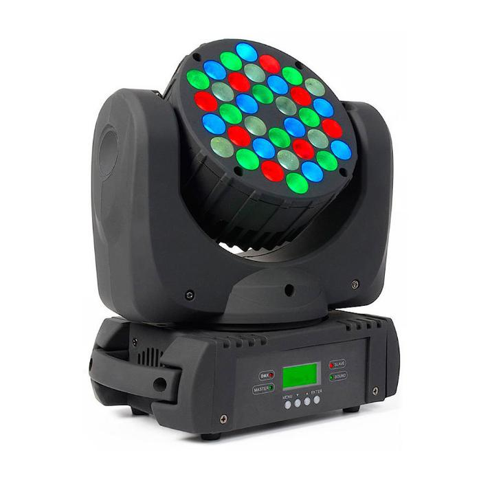 STAR TRIP LED ΚΙΝΗΤΗ ΚΕΦΑΛΗ 36X3W RGBW LEDS 8°