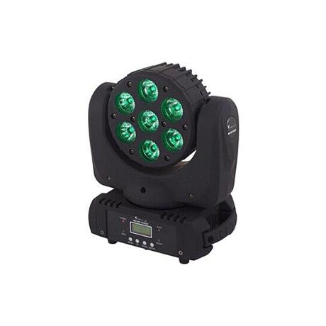 STAR TRIP LED BEAM MOVING HEAD WITH 7X10W RGBW LEDS, BEAM ANGLE: 8°
