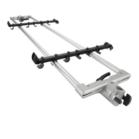 KORG KEYBOARD STAND EXTENTION MEDIUM SILVER