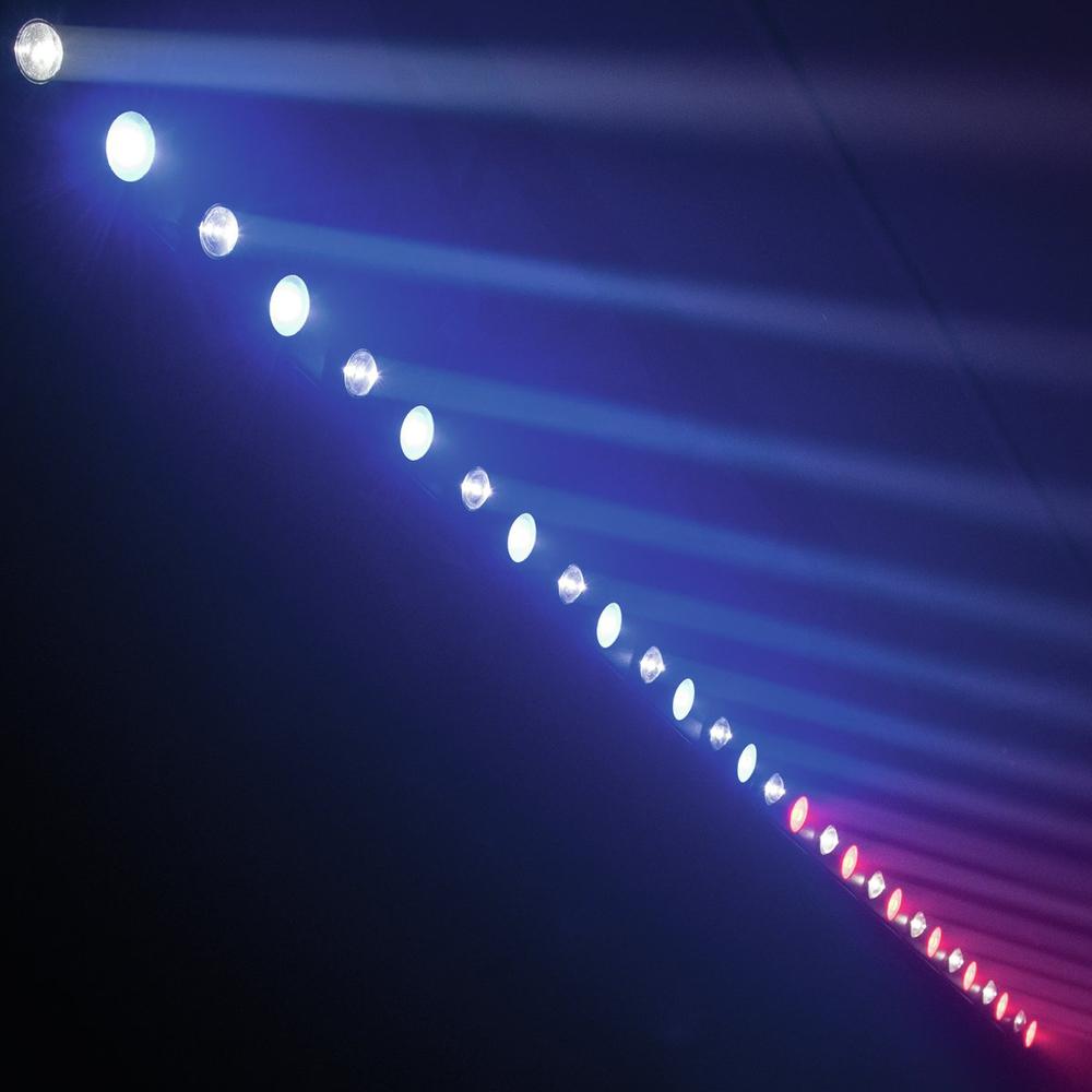 EUROLITE LED ΜΠΑΡΑ ΜΕ 7X3W-WW SPOT & 7X7W WASH TCL RGB