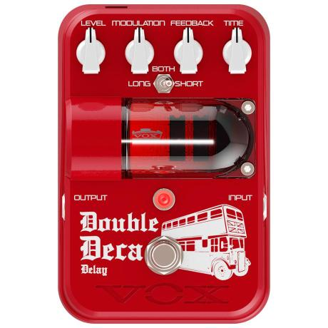 VOX DOUBLE DECA DELAY PEDAL