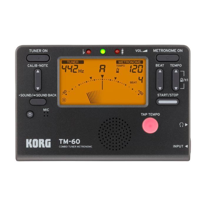 KORG DIGITAL TUNER/METRONOME BLACK-2
