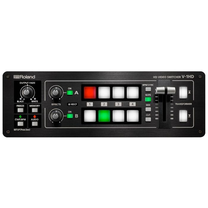 ROLAND 4 CHANNEL HD VIDEO MIXER FIX FORMAT-0