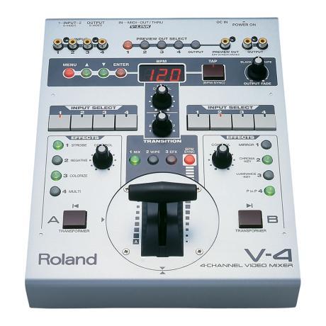 ROLAND 4-CH VIDEO MIXER