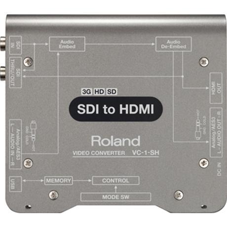 ROLAND SDI TO HDMI SD/HD/3G CONVERTER WITH EMB. AUDIO