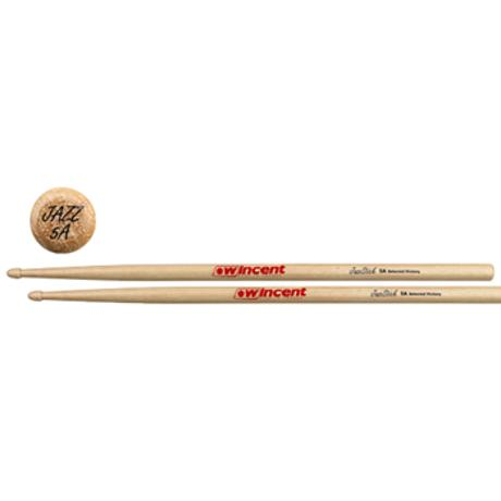WINCENT ΜΠΑΚΕΤΕΣ 5A HICKORY JAZZSTICK