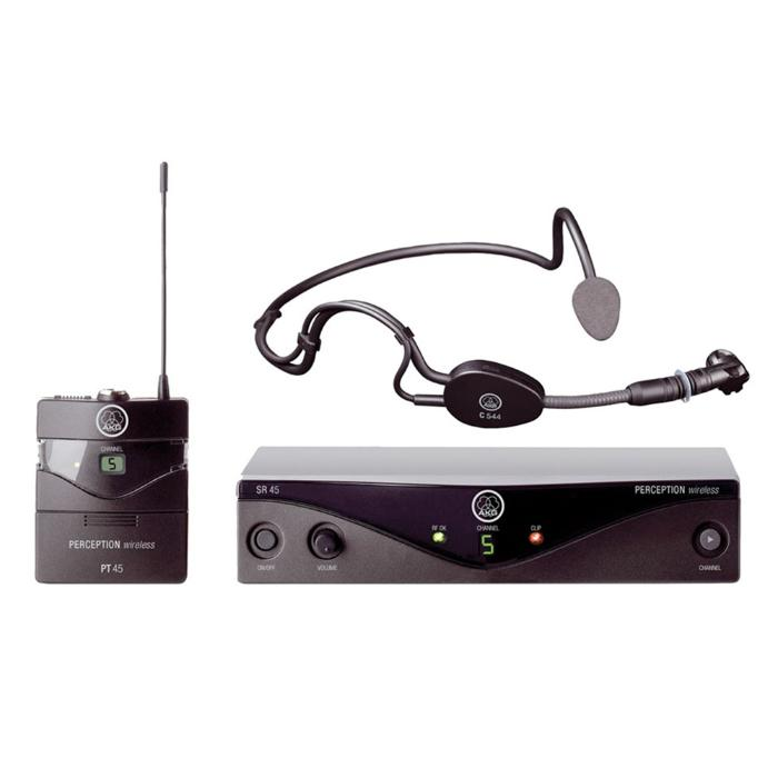 AKG HIGH PERFORMANCE WIRELESS MICROPHONE SYSTEM