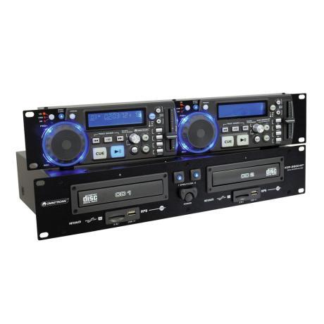 OMNITRONIC ΔΙΠΛΟ CD/MP3 PLAYER FOR CD,USB,SD