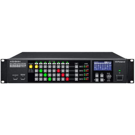 ROLAND MATRIX SWITCHER 8IN4OUT WITH HD BASET